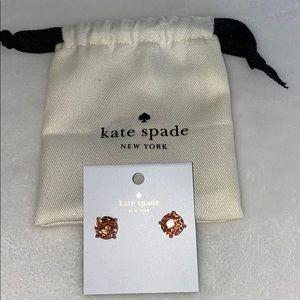 NWT! Kate Spade Light Peach Earrings